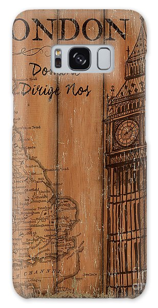 Vintage Travel London Galaxy Case