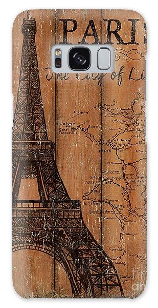 Eiffel Tower Galaxy S8 Case - Vintage Travel Paris by Debbie DeWitt