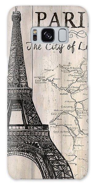 Camera Galaxy Case - Vintage Travel Poster Paris by Debbie DeWitt