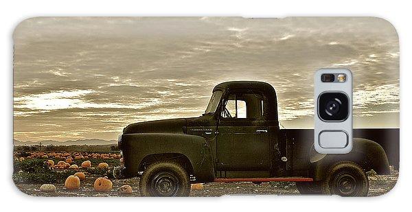 Vintage Truck Two In Pumpkin Graveyard Galaxy Case