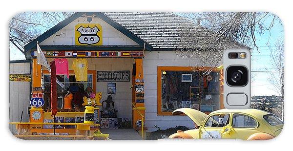 Vintage Vw Beetle At Seligman Antiques, Historic Route 66 Galaxy Case