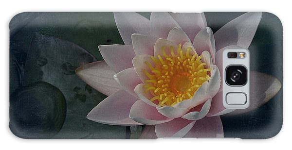 Vintage Water Lily Galaxy Case by Richard Cummings