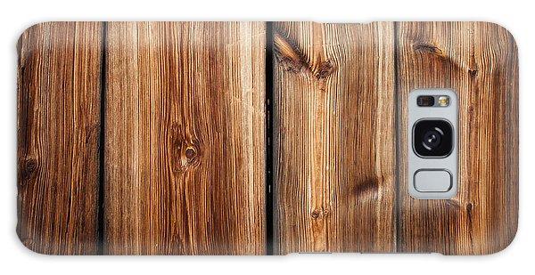 Vintage Wood Planks Galaxy Case