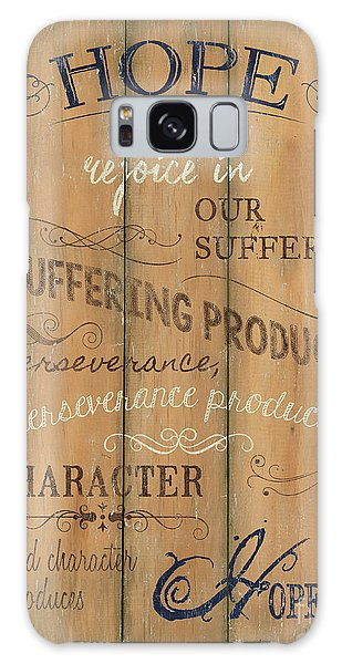 Spirituality Galaxy Case - Vintage Wtlb Hope by Debbie DeWitt
