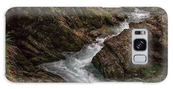 Galaxy Case featuring the photograph Vintgar Gorge Rapids - Slovenia by Stuart Litoff
