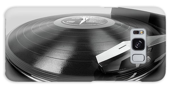 Vinyl Lp And Turntable Galaxy Case