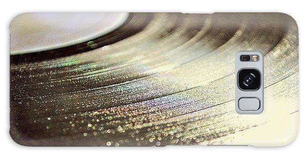 Vinyl Record Galaxy Case by Lyn Randle