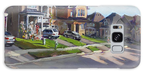 Georgetown Galaxy S8 Case - Viola's House In Georgetown On by Ylli Haruni