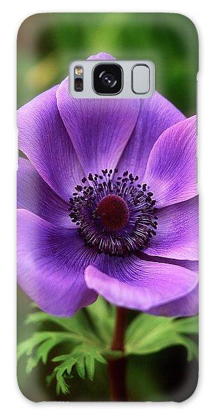 Violet Anemone Galaxy Case