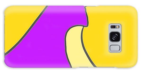 Violet Blonde Galaxy Case