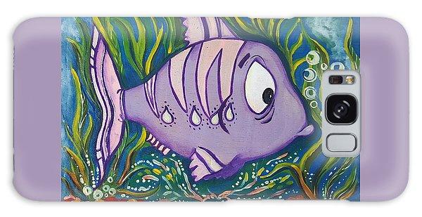 Violet Fish Galaxy Case