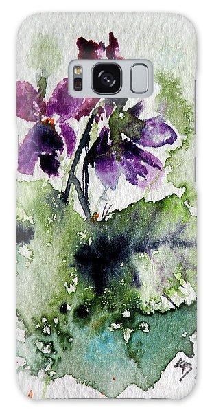 Violet Iv Galaxy Case by Kovacs Anna Brigitta