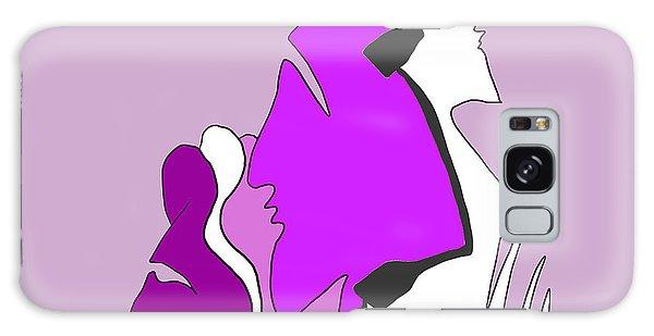 Violet Galaxy Case