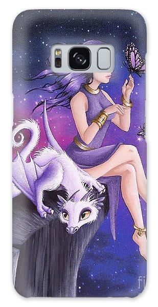 Violet Night Fantasy Galaxy Case