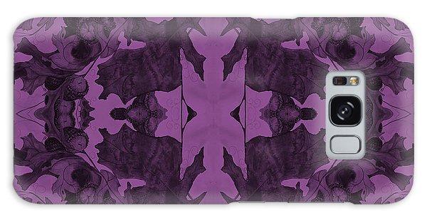 Violet Oak Tree Pattern Galaxy Case