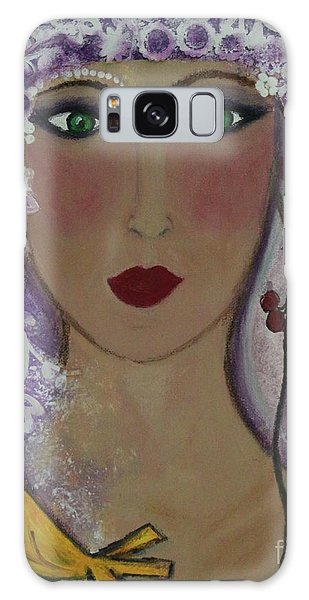 Violet Queen Galaxy Case