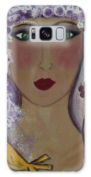 Violet Queen Galaxy Case
