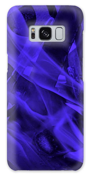 Violet Shine I I Galaxy Case