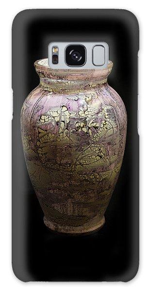 Violet Vase Galaxy Case