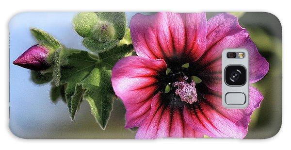 Violet Wild Flower Galaxy Case by Stephan Grixti