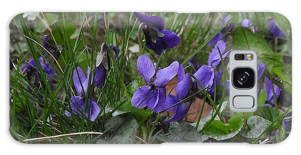 Violets Galaxy Case