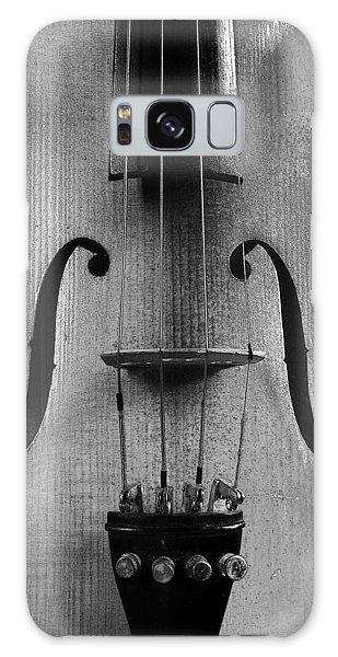 Violin # 2 Bw Galaxy Case