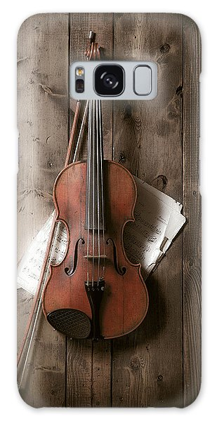 Still Life Galaxy S8 Case - Violin by Garry Gay