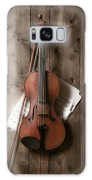 Lives Galaxy Case - Violin by Garry Gay