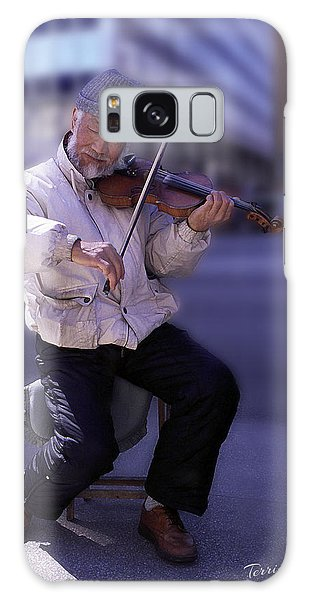 Violin Guy Galaxy Case