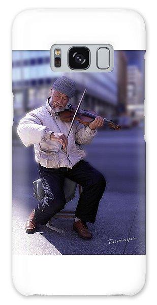 Violin Guy Galaxy Case