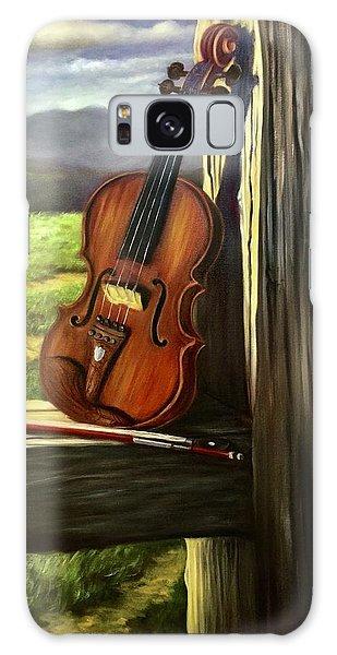 Violin Galaxy Case by Randy Burns
