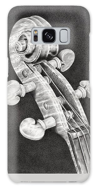 Violin Scroll Galaxy Case