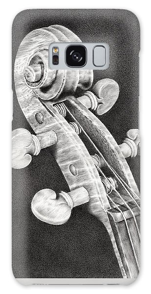 Violin Galaxy Case - Violin Scroll by Remrov