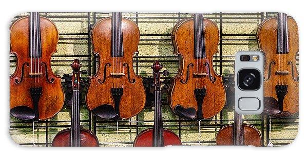 Violins In A Shop Galaxy Case