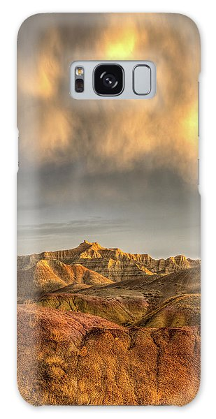 Virga Over The Badlands Galaxy Case