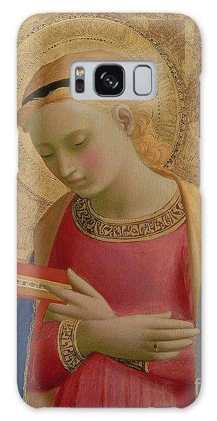Annunciation Galaxy Case - Virgin Annunciate by Fra Angelico
