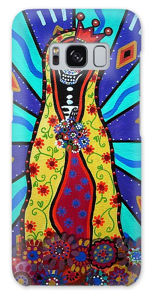 Virgin Guadalupe Day Of The Dead Galaxy Case
