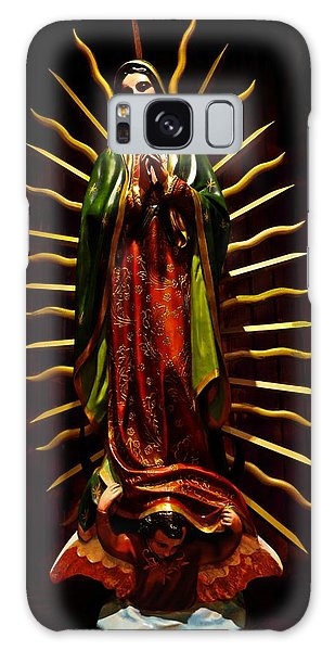 Virgin Of Guadalupe Galaxy Case