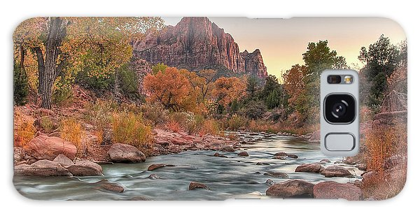 Virgin River And The Watchman Galaxy Case