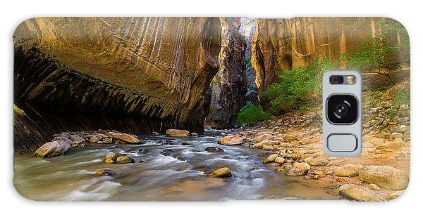 Virgin River - Zion National Park Galaxy Case