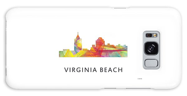Virginia Beach  Virginia Skyline Galaxy Case