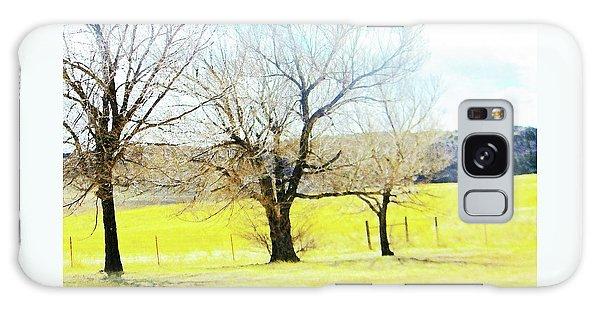 Virginia Dale-three Trees Galaxy Case by Lenore Senior