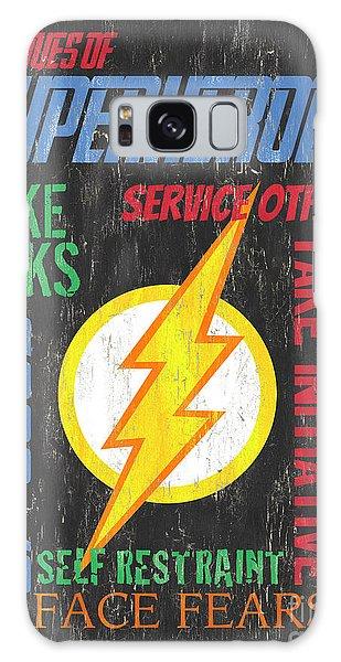 Heroes Galaxy Case - Virtues Of A Superhero 2 by Debbie DeWitt