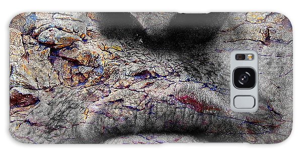 Visceral Number 78 Galaxy Case by Beto Machado
