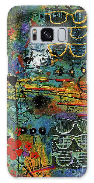 Visions Of A Good Life Galaxy Case
