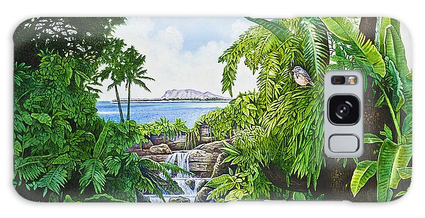 Visions Of Paradise Ix Galaxy Case by Michael Frank