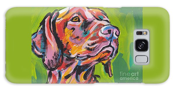 Dog Galaxy S8 Case - Viva La Vizsla by Lea S
