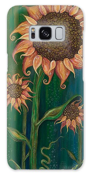 Vivacious Galaxy Case by Tanielle Childers