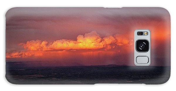 Vivid Verde Valley Sunset Galaxy Case