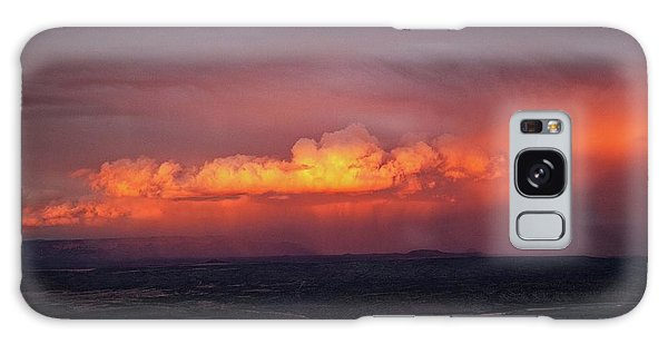 Vivid Verde Valley Sunset Galaxy Case